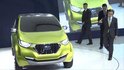 News video: Datsun Press Conference at the India Auto Expo 2014